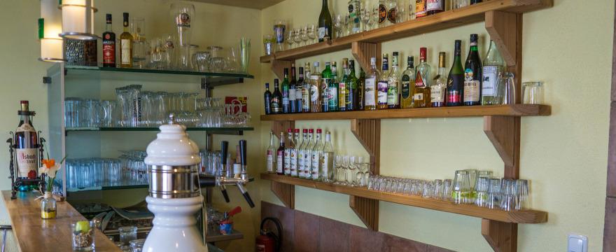 Theke der Gaststätte Alt Bonsdorf